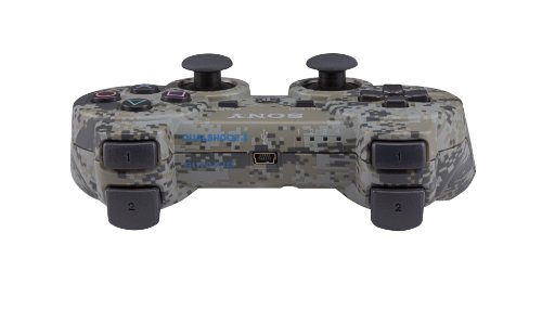 amazoncom playstation 3 dualshock 3 wireless controller urban camouflage playstation 3 video games - Manette Ps3 Color