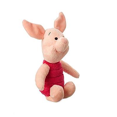 Disney Store Original Winnie The Pooh Mini Bean Plush Doll Set - Tigger, Eeyore, Piglet and Pooh: Toys & Games