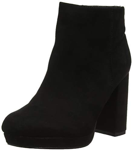 New Botines 1 Mujer Look black Foot Wide Anastacia Para Negro nZPfZq