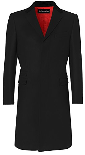 Wool And Satin Coat - 5