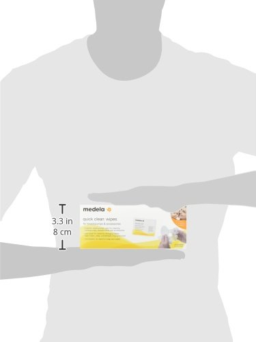 Medela-Quick-Clean-Breast-Pump-and-40-Piece-Accessory-Wipes