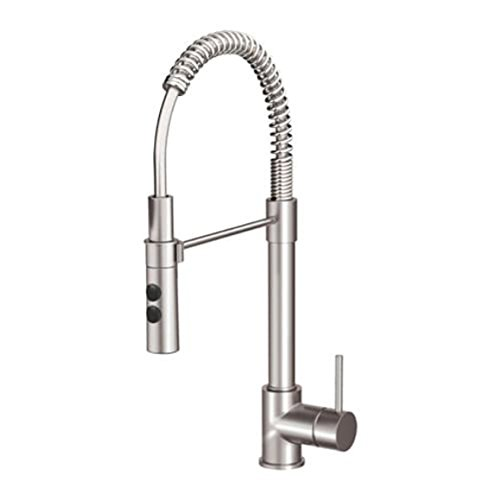IKEA Vimmern Kitchen Faucet With Handspray Stainless Steel Color 103.052.89
