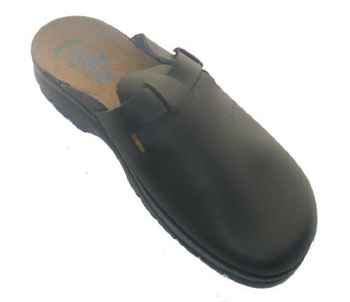 Fly Flot 855098 men Clogs shoes for home Black GNMJmCe