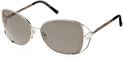 Gianfranco Ferre Oversized Sunglasses (Silver) (Gf-90001)