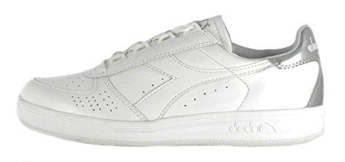 2016 Pala Autunno inverno Donna C6103 Bianco Argento 170649 Sneaker Diadora Bianco CxgwSqY8
