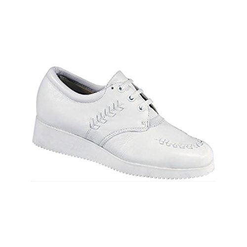 Dessiné Chaussure Femmes Bounce Oxfords Hiver Blanc