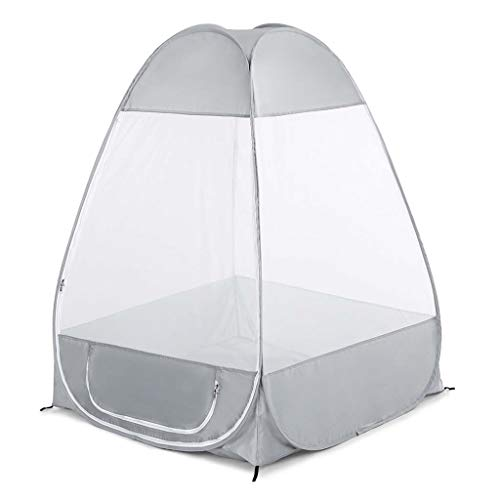 Gbyao Tent Outdoor Mosquito Net Meditation Camping Tent Single Sitting Stand-Alone Shelter Cabana Mosquito Quick Folding Travel Tent