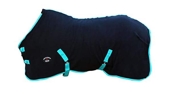 Challenger Horsewear 76 Horse Sheet Polar Fleece Cooler Exercise Blanket Wicks Moisture 4391N