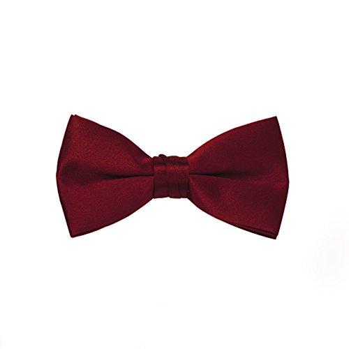 Apple Tie (Satin Bow Ties (Mens, Apple red))