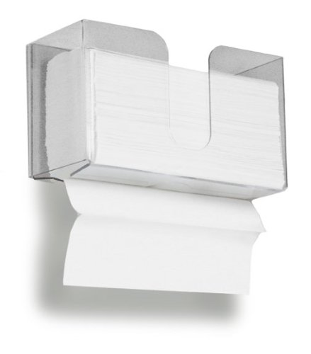 - TrippNT 51912 Dual Dispensing Paper Towel Holder, 150 Multi-Fold Paper Towel Capacity and Peelable Protective Film