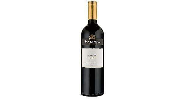 Reserve Malbec, Bodegas Santa Ana, 75cl. (caja de 6). Mendoza/Argentina. Malbec. Vino Tinto.: Amazon.es: Alimentación y bebidas