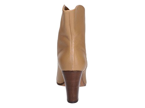 Model number in tan Camel Céline 319583NHBC Wrap Heritage leather Bootie 04FG wxZTH4Fq