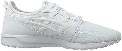 Asics Men's Gel Lyte Hikari Low Top Sneakers, White 100, 8