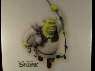 Deck The Swamp! Shrek and Donkey 2007 Hallmark Keepsake Ornament QXI4397 - Donkey Keepsake