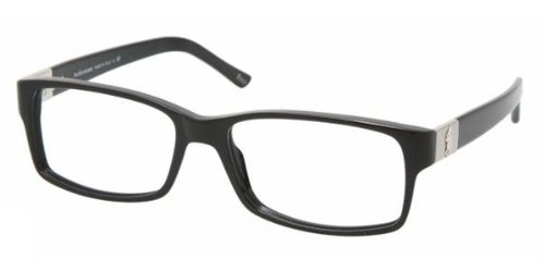 Polo PH2046 Eyeglasses-5001 Shiny Black-56mm