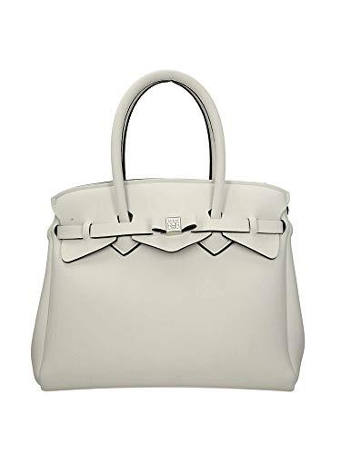Save My Bag Miss Plus, Sac à bandoulière pour femme, 34x29x18 Cm (lx H L) Ivoire (ivoire)