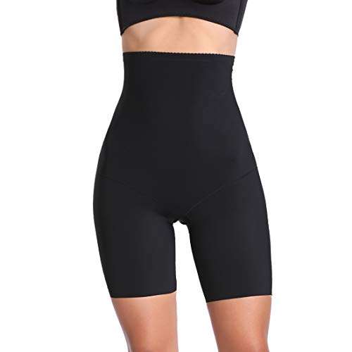 d259ff0484ff9 Joyshaper Thigh Slimmer Shapewear for Women Slip Shorts Under Dress Waist  Cincher Girdle Control Panties