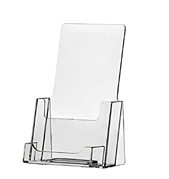 Amazon Clear Acrylic Brochure Holder With Business Card Holder