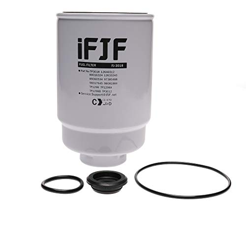 iFJF TP3018 Fuel Filter for Duramax 6.6L 2001-2016 Chevrolet Silverado/GMC Sierra Engine Chevy TP3012 19305685 12664429 12633243