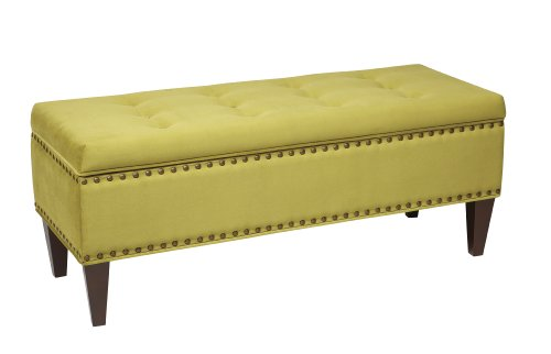 Avenue Six EST-B16 Estrella Storage Bench