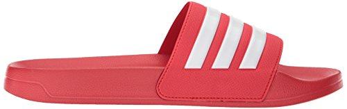Scarlet white Hombre De Shower scarlet Meter Sandalia Para Adilette Adidas x0B8q7wP