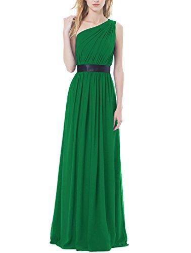 a linea Mall Senza maniche green dark da sposa ad Abito Bridal Donna x6q1Y1