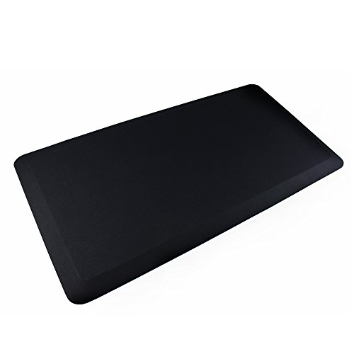 AFS-TEX System 3000, Anti-Fatigue Mat, Designed for Standing Desk Use, Carbon Black, 20'' x 39'' (FC35199ABM) by Floortex (Image #7)