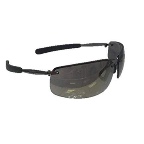 Remington Shooting Glasses T82-Y0D Sunglasses Mens Yellow Mirrored Lens Gracing Clay Protection