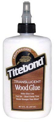 (10) bottles Franklin Titebond 6123 8 oz Translucent Wood Glue