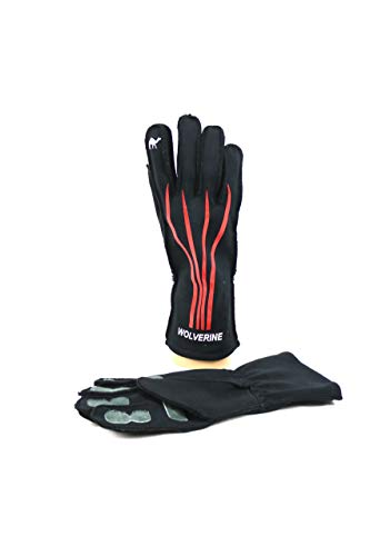 Red Camel WLVRN Kart Racing Glove Black/Red (Medium) ()