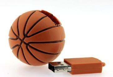 Plástico Kleine Baloncesto Modelo Carcasa USB 2.0 Flash Pen Drive ...