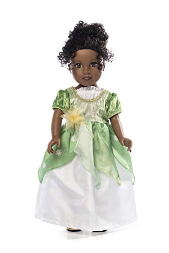Little Adventures Classic Lily Pad Princess Doll Dress