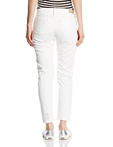 Mexx Mx3022890 Women Pant - azul Mujer Weiß (EMLYN WASH D00121)