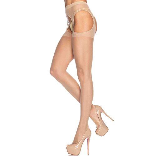 (Leg Avenue Womens Sheer Suspender Hose)