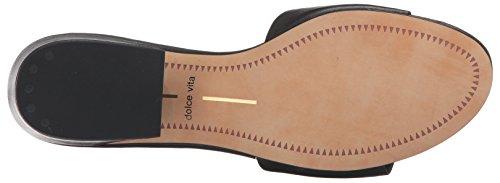 Dolce Vita Kvinnor Rilee Glid Sandal Onyx Läder
