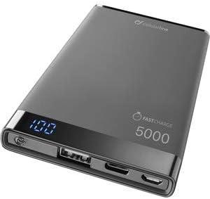 cellularline FreePower Manta S 5000 batería Externa Negro Polímero ...