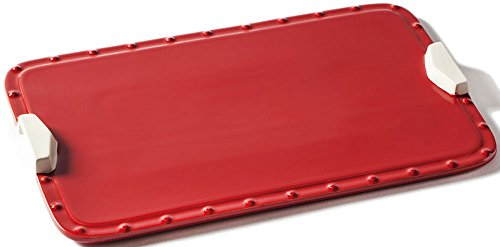 Alfresco Home Fornetto Ceramic Rectangular Baking Tray with Handles Alfresco Home Bar Set