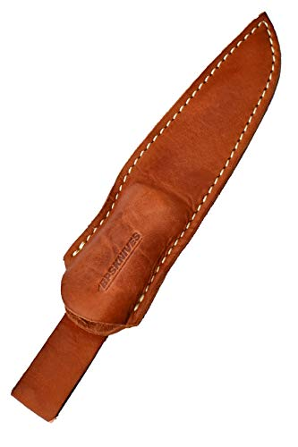 BPS Knives Genie Leather Sheath for BPS Basic Knife BS1 (Leather Sheath Only)