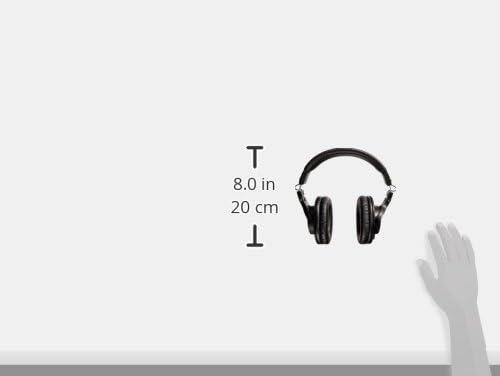 Audio-Technica ATH-M30x Professional Studio Monitor Headphones, Black