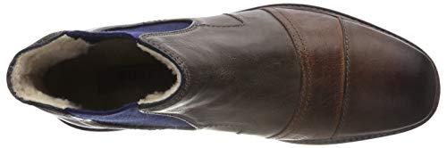 Clasicas 11 Brown Para 3 Bugatti dark Marrón 6111 21623e Hombre Grey Botas Dark xqw4nnUSI
