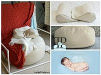 STARTER SET #13 ~ Studio Posey Pillow, Squishy Poser & Full size backdrop stand ~ NEWBORN PHOTO PROP by Posey Pillow