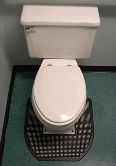 Amazoncom SANITRO Toilet Urine Absorbent Odor Remover Mat - Bathroom odor remover