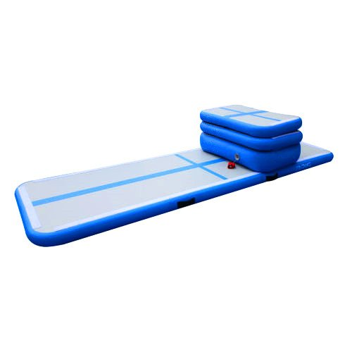 MXBAOHENG Aire Pista formación Set Aire Tumbling Track Home ...