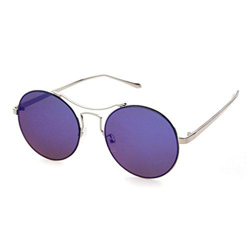 LOMOL 2016 New Girls Fashion Trendy Cute Colorful UV Protection Round - Glassing Eyewear