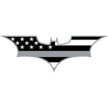 Amazon Com Morale Tags Thin Blue Line Bat Batman Police