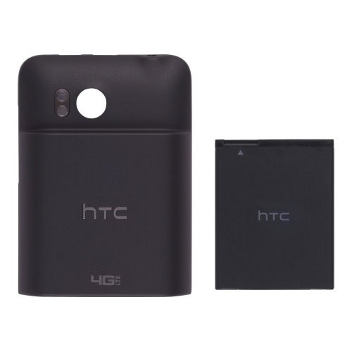 HTC 74H01885-00M Thunderbolt 6400 Extended Battery with Door - 2750 MaH - Non-Retail Packaging - Black
