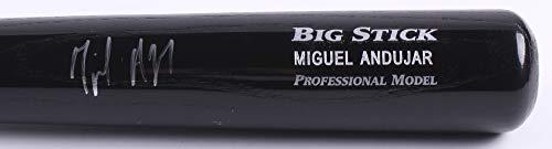 MIGUEL ANDUJAR SIGNED RAWLINGS ADIRONDACK BIG STICK PLAYER MODEL BAT BECKETT COA