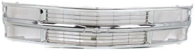 Evan-Fischer EVA17772015411 Grille Assembly Grill Plastic shell and insert Chrome Bar (99 Blazer Grill compare prices)