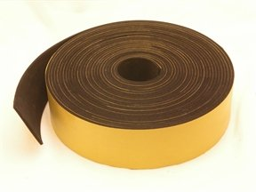 neoprene rubber self adhesive strip 50mm wide x 2mm thick x 10m long rubber products