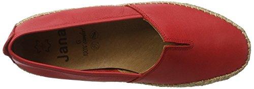 Jana Women's 24601 Espadrilles, Brown, 4 UK Red (Red 500)